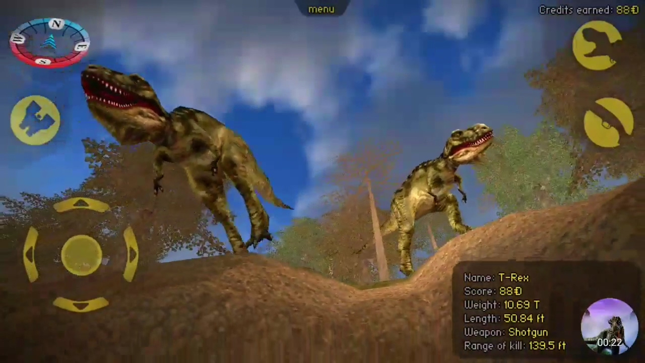carnivores dinosaur hunter trex madness youtube