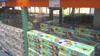 Жизнь в Америке: цены в Costco - оптовый магазин продуктов(экскурсия по половине магазина: техника, одежда, мебель, бакалея, соки, молочные продукты... цены на продукты..., 2012-06-08T04:22:33.000Z)