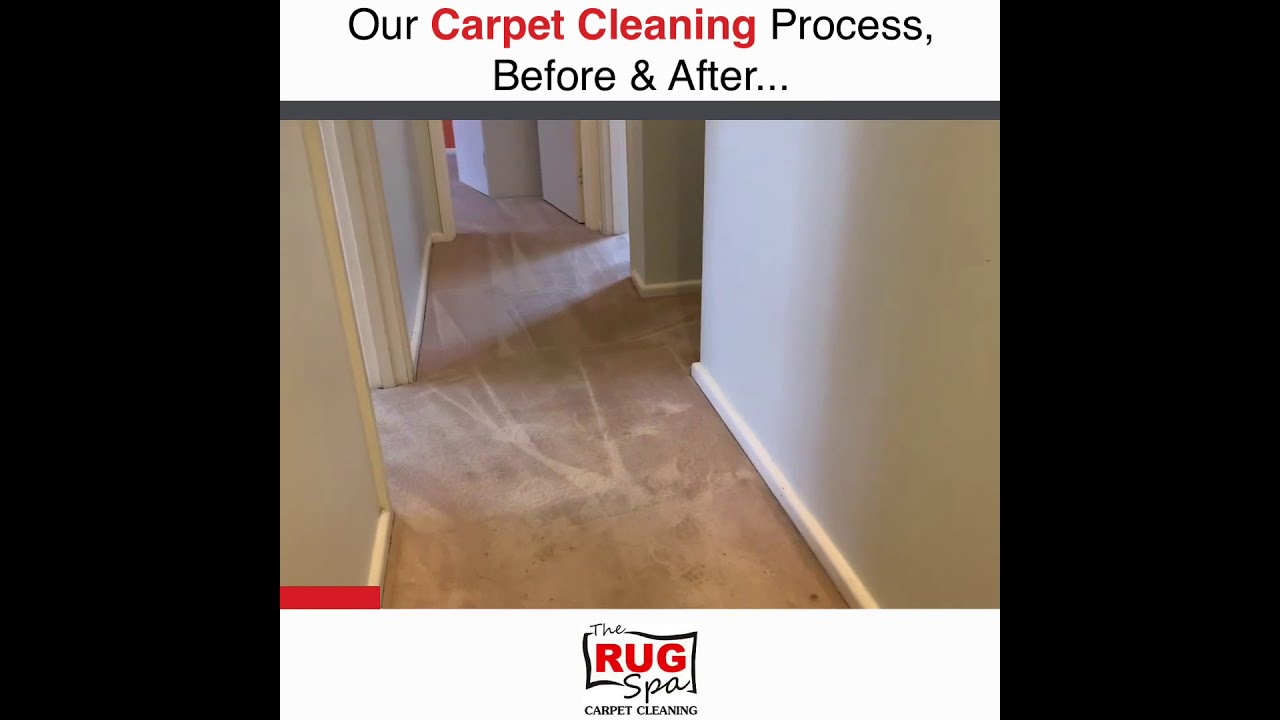 Carpet Cleaning Canberra - The Rug Spa Carpet Cleaning - Before And After Steam Cleaning.