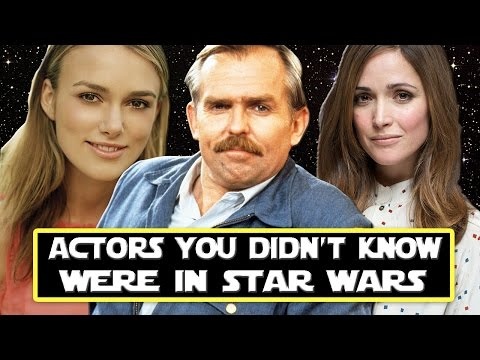 7 Actors You Didn't Know Were In Star Wars