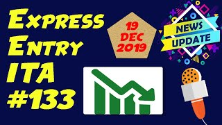 Canada Express Entry Draw #133. December 19, 2019