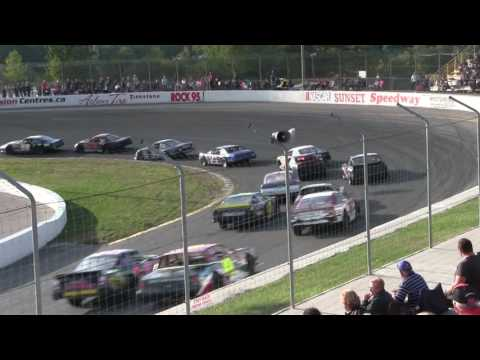 Sunset Speedway Super Stock Feature 1 2016 09 10