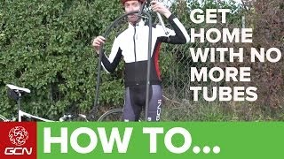 No More Inner Tubes? H๐w To Get Home - GCN's Roadside Maintenance Series