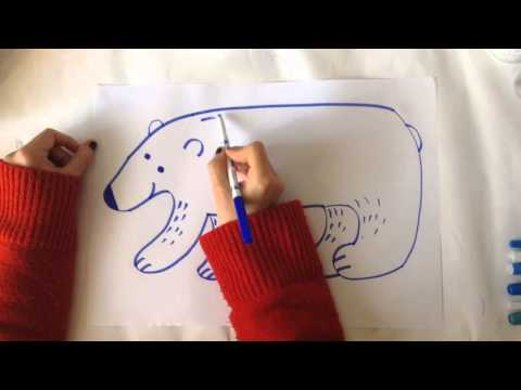 How to draw polar bears and other Arctic animals