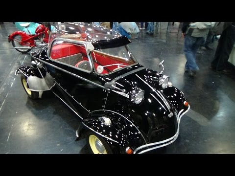 1958, Messerschmitt FMR TG 500 by Automobile Classics on YouTube