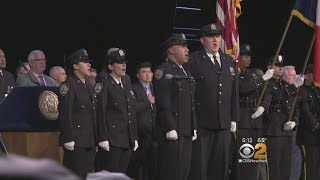 NYPD Cadets Graduate At Madison Square Garden