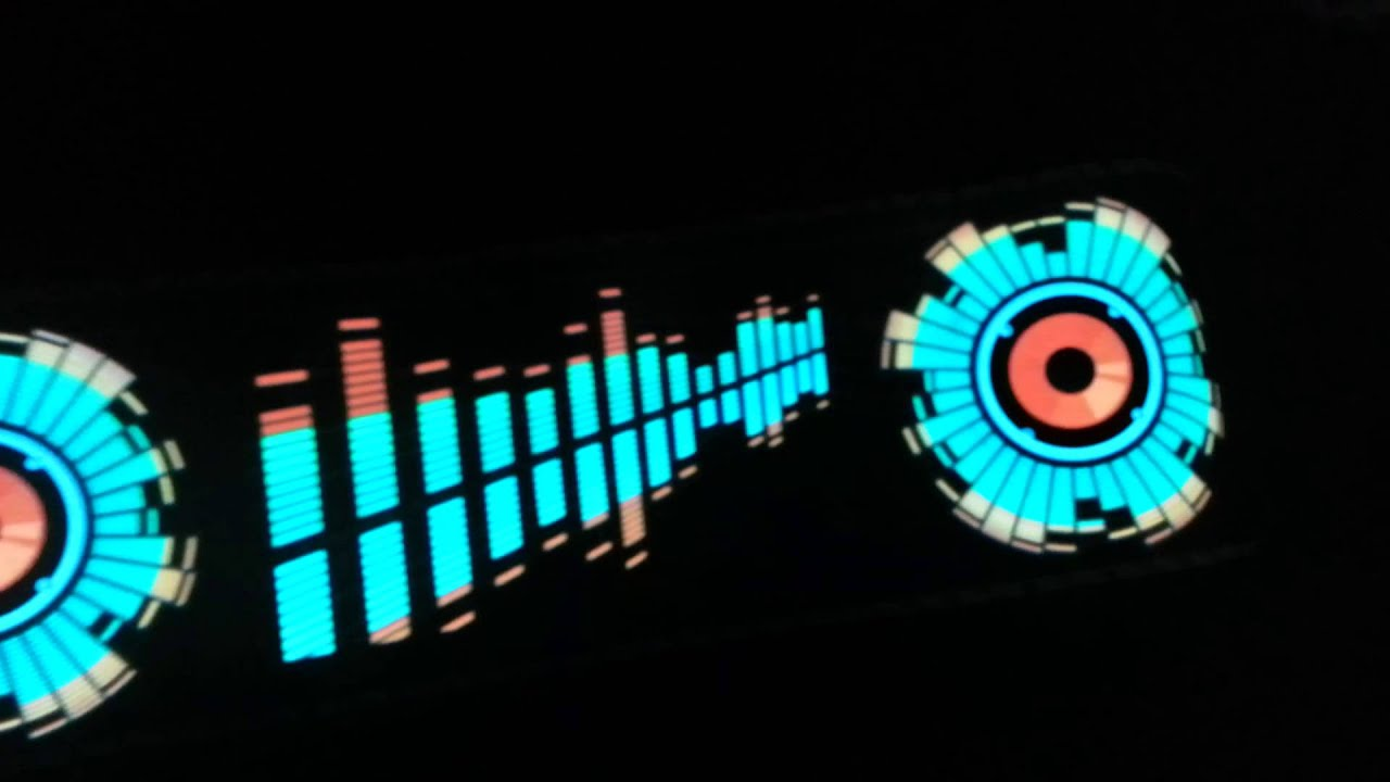 Car Music Rhythm Lamp Youtube
