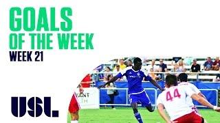 USL Goals Of The Week - Week 21