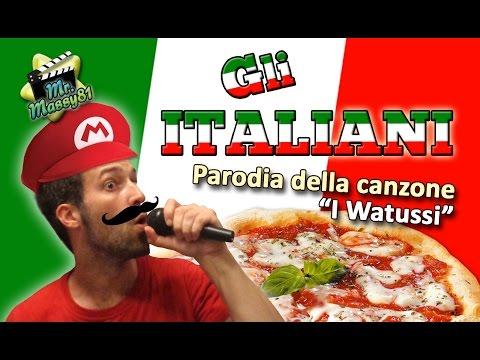 Gli italiani - Parodia I Watussi