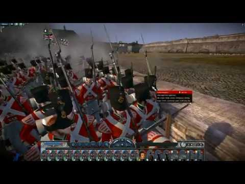 The Massacre of Gibraltar 1782 | Napoleon Total War | Spanish Vs British