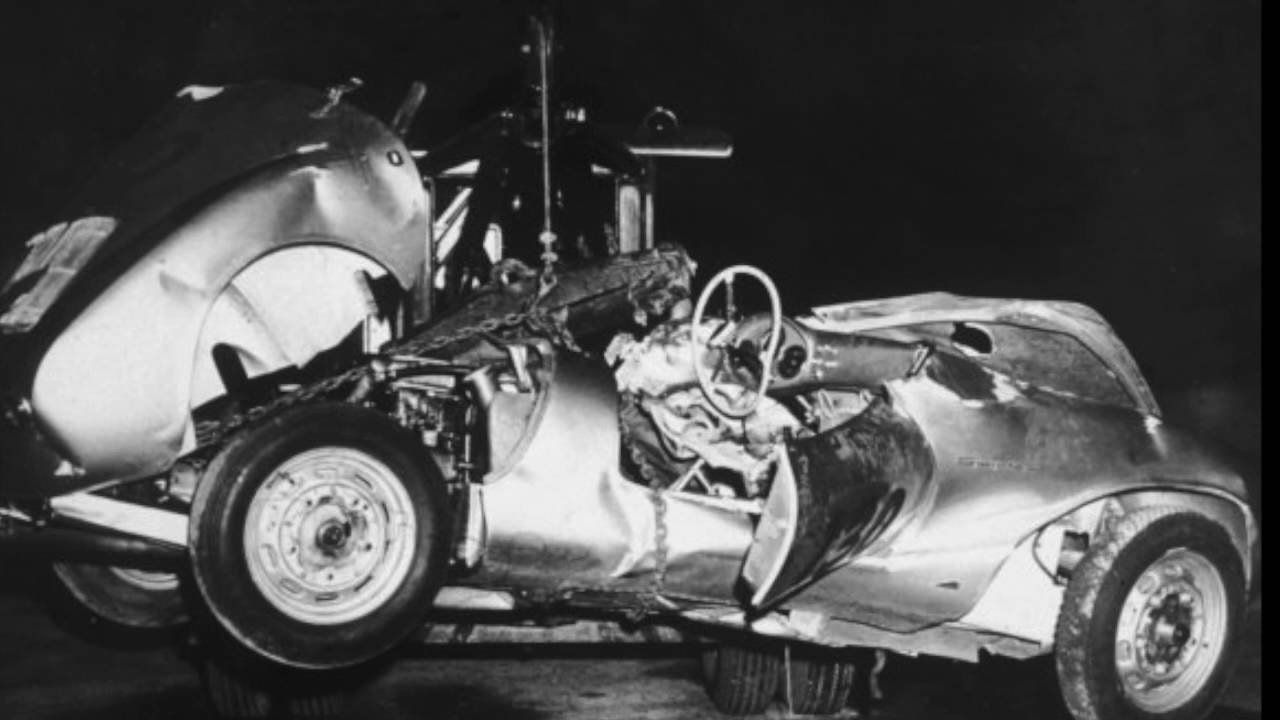 Was James Dean Killed By His Possessed Car Little Bastard No An But Interesting Watch