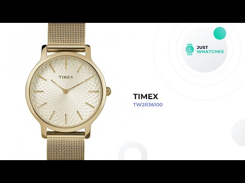 Timex TW2R36100 Ladies' Watches Detailed 360°, Prices, Features