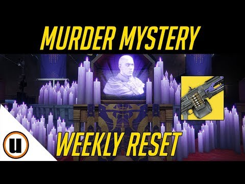 The Lost Cryptach Murder Mystery Part 2 | Destiny 2 Weekly Reset thumbnail