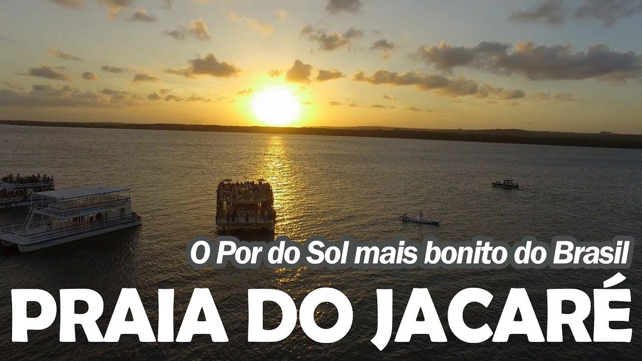 veja porque por sol da praia jacare mais bonito brasil grande joao pessoa pb