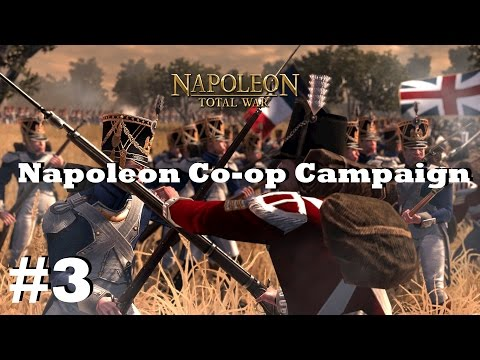 Napoleon: Total War Campaign w/ Glader #3 - The Battle of Gibraltar