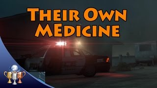 Battlefield Hardline - Their Own Medicine Trophy (Steal a T62 CEW from Police Cruiser in Gauntlet)