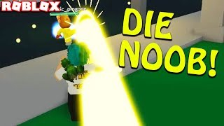 im new so they killed me in ROBLOX Power Simulator (funny moments)