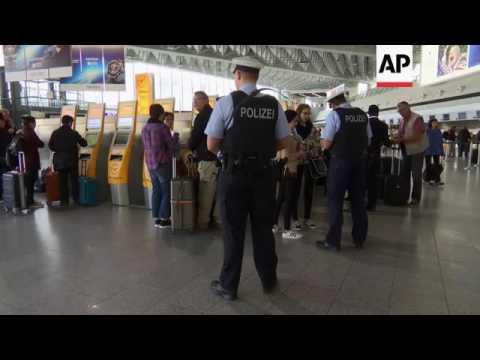 Security Tight At German Airport