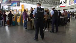 Security tight at German airport