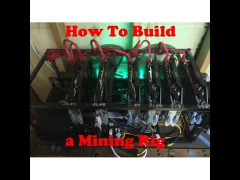 How To Build A Mining Rig Case / Frame From Aluminum From Home Depot / Lowes