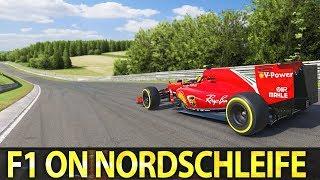 Hardest combo? F1 around Nordschleife!