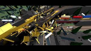 Bridge Madness (ROBLOX TRAIN CRASH)