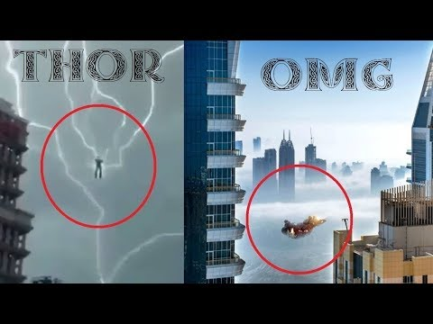 Avengers Caught On Camera In Real Life (Thor)