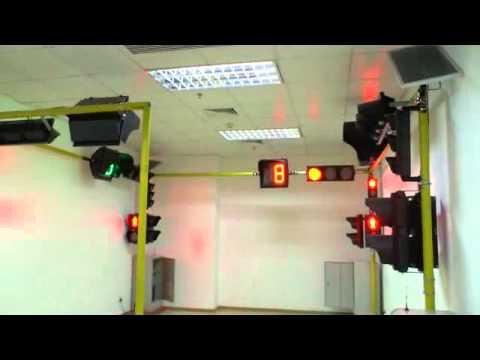 wireless solar traffic controller system