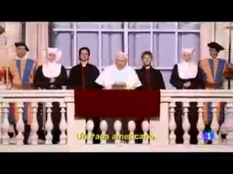 Un papa americano, nuevo papa, video cancion papa.