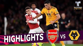 Arsenal vs. Wolverhampton: 1-1 Goals & Highlights | Premier League | Telemundo Deportes