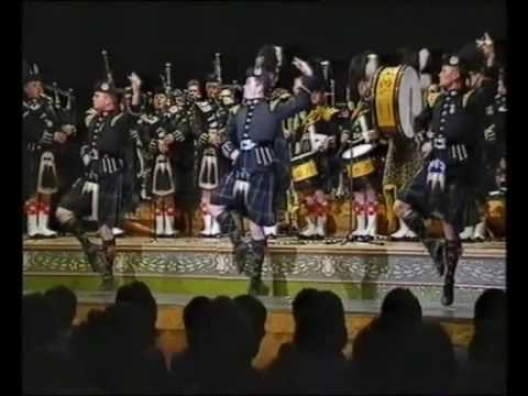 The Gordon Highlanders Drums And Pipes(Live)
