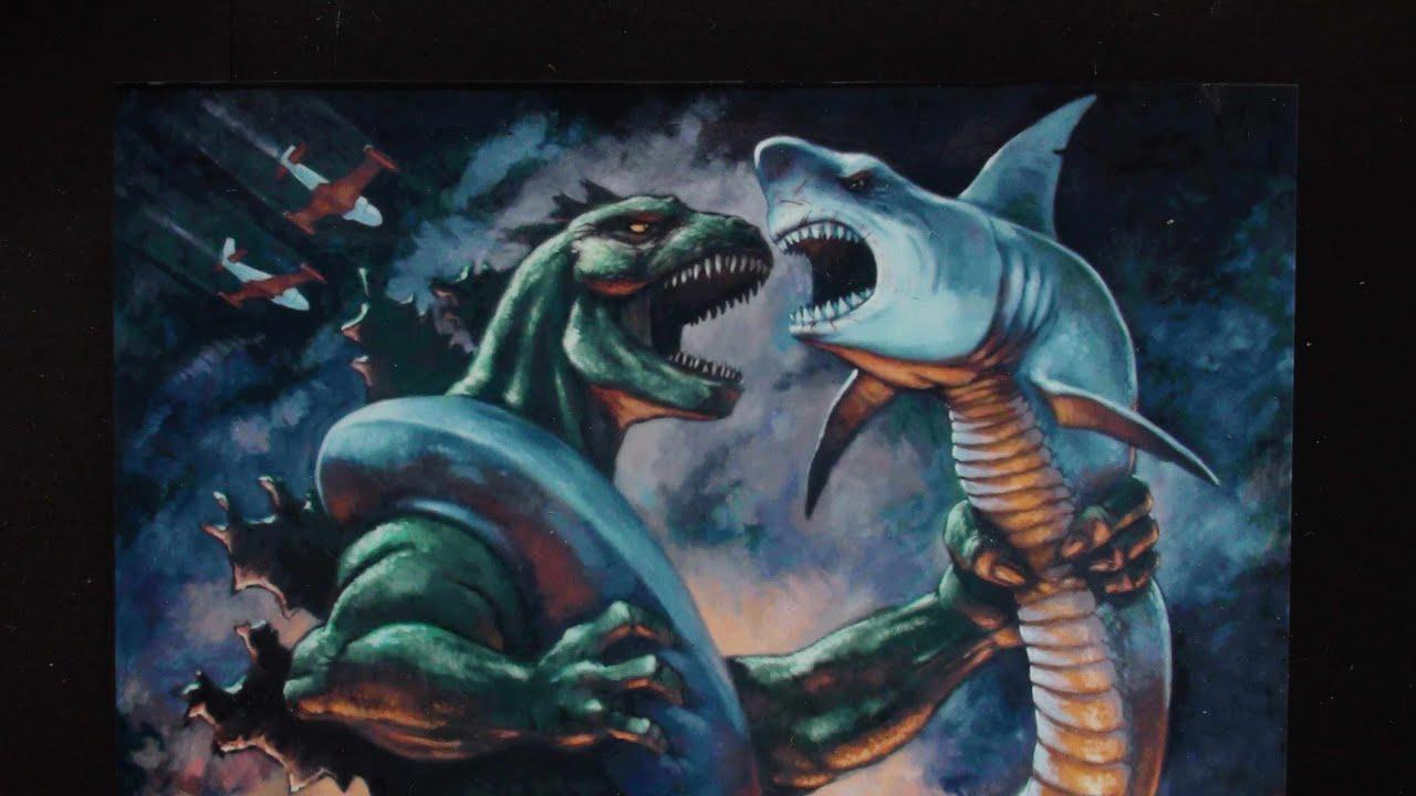 GODZILLA vs SHARKACONDA - SPOILER ALERT - 2015 - YouTube