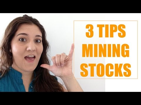 🍀 3 Tips Investing in Mining Stocks Like a boss  🍀
