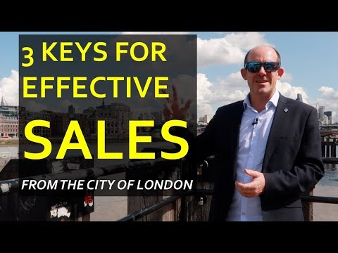 Entrepreneurial Sales: 3 Keys to Successful Selling from Conor Neill