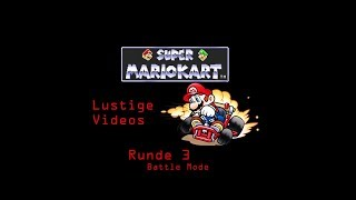 ##Mario Kart## Old but Gold! Wetten! Super Nintendo Nils vs. Scheller Part 3 Battle Mode