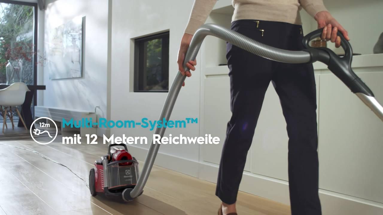 beutelloser staubsauger ultraflex zufparkett youtube. Black Bedroom Furniture Sets. Home Design Ideas