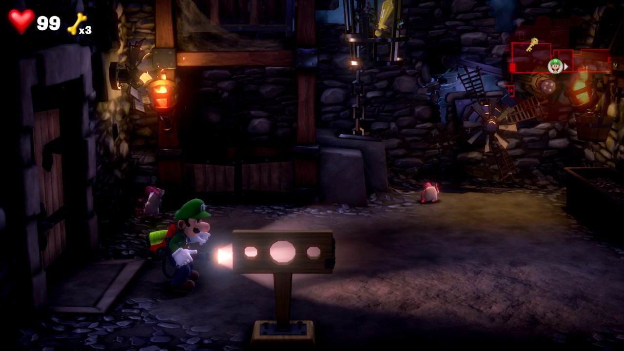 How To The Get The Gem In 6f Dungeon Cage Lift Room Luigi S Mansion 3