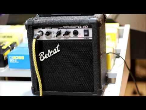 【六絃樂器】全新 Belcat G-10 電吉他音箱 / 出力10W 有破音效果 附耳機插孔