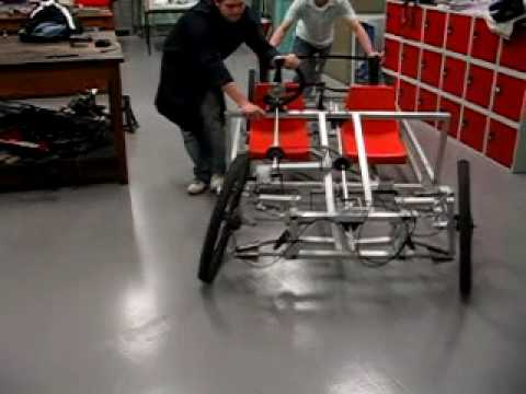 Strathclyde Pedal Car Steering Test 2