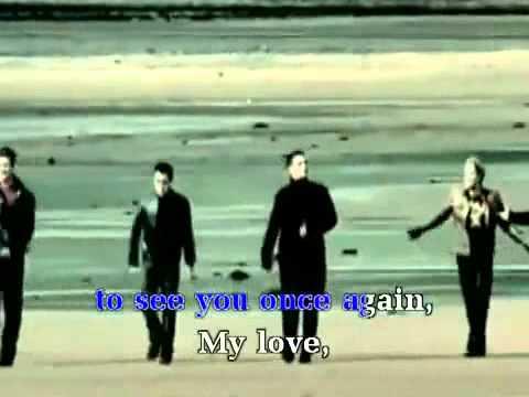 Karaoke My Love Westlife(beat+MV)