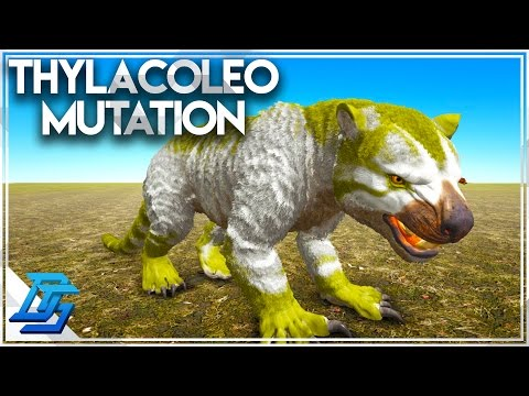 Thylacoleo Color Mutation , Twins , Breeding Montage! - Ark: Survival Evolved