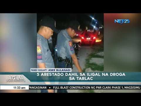 3 arestado dahil sa iligal na droga sa Tarlac