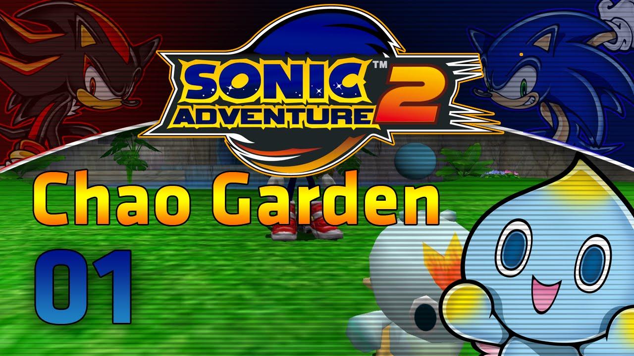 Sonic Adventure 2 Chao Garden Episode 01 Youtube