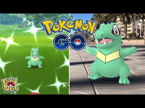 COMMUNITY DAY DE TOTODILE! (PARTE 1) EL TROLEO QUE NO PODÍA FALTAR! [Pokémon GO-davidpetit] thumbnail