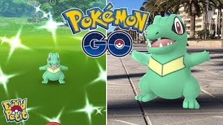COMMUNITY DAY DE TOTODILE! (PARTE 1) EL TROLEO QUE NO PODÍA FALTAR! [Pokémon GO-davidpetit]