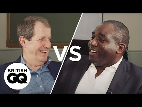 Alastair Campbell vs. David Lammy: GQ meets a backbench rebel | GQ Politics | British GQ
