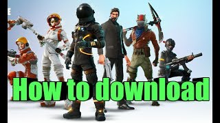 How to download Fortnite / fortcraft mobile on Android / IOS with gameplay | Fortcraft