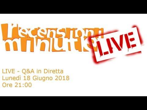 Recensioni Minute Live - Q&A: Domande e risposte al volo
