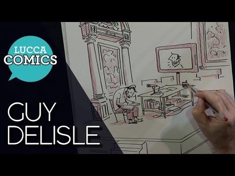 [Lucca Comics] Showcase 2013: Guy Delisle