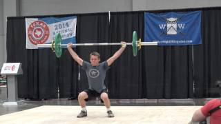 Third Lift - 48 kg snatch - Naturally Fit Games, Weightlifting Wise Championships 2015